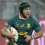 Cheslin Kolbe of South Africa scores a try during the 2021 British and Irish Lions Tour third test between South Africa and BI Lions at Cape Town Stadium on 7 August 2021 ©Ryan Wilkisky/BackpagePix