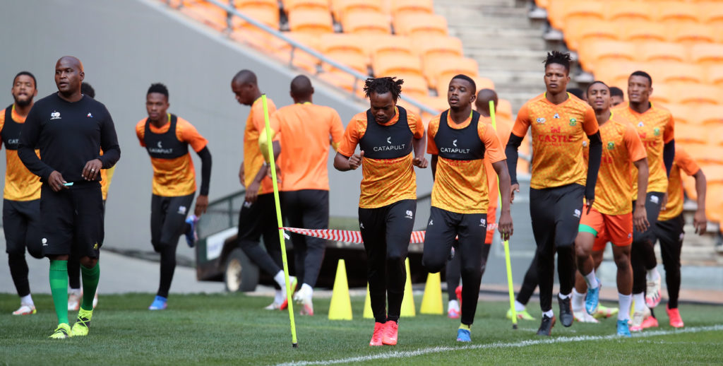In Pictures: Bafana's preparations for Ghana showdown
