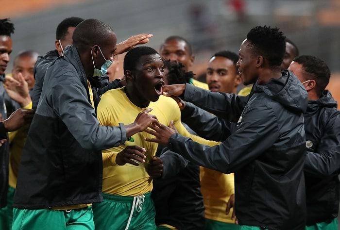 Bongokuhle Hlongwane, Bafana Bafana