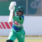 Yaseen Valli of the Six Gun Grill SWD bats during the Cricket South Africa Provincial T20 Cup 2021/22 match between Northern Cape Heat and Six Gun Grill SWD at De Beers Diamond Oval, Kimberly, on 24 September 2021 ©Samuel Shivambu/BackpagePix