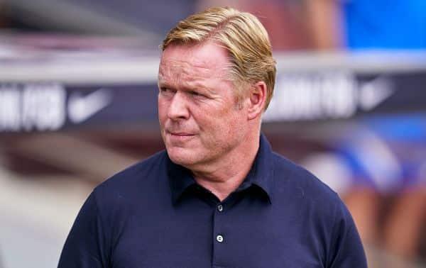 Barcelona consider replacing Ronald Koeman - reports
