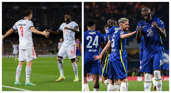 Bayern Munich and Chelsea