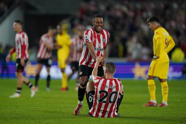 Brentford hit back twice to snatch point in thrilling 3-3 draw with Liverpool