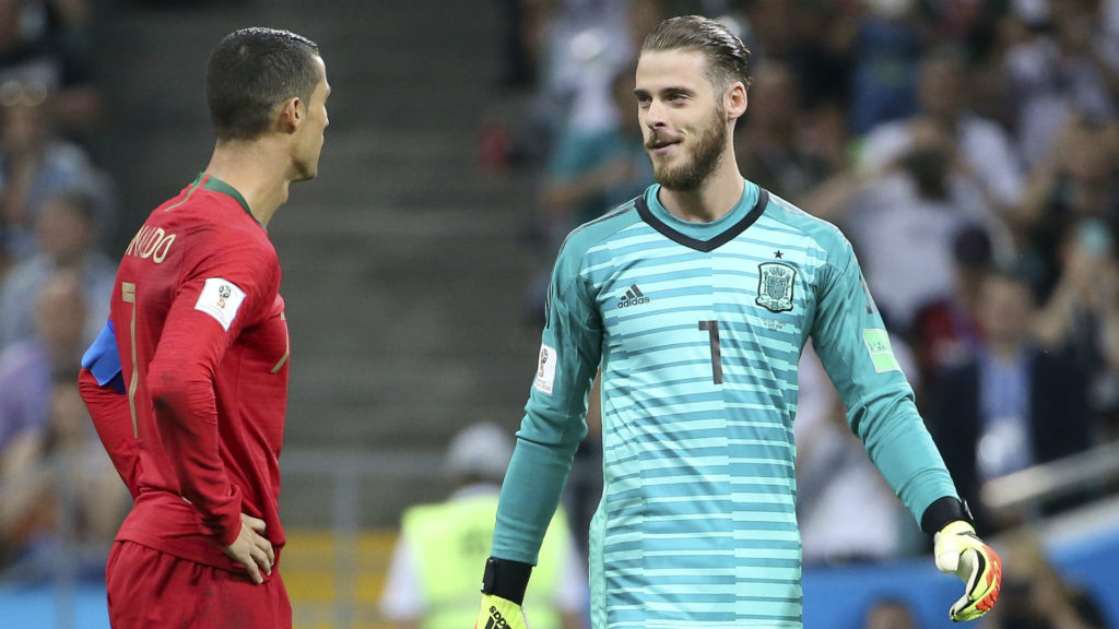 De Gea says it's massive for United to have Ronaldo 'back home'