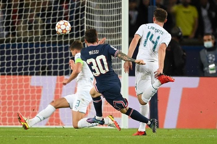 Lionel Messi of PSG