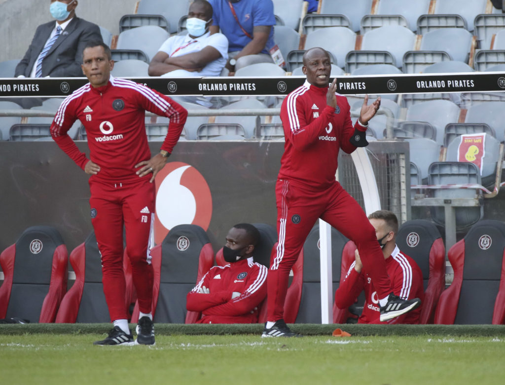 Ncikazi hails Pirates' fighting spirit