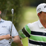 McNealy rallies late to grab share of lead at Fortinet Championship