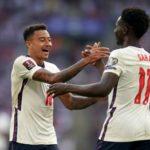 England Saka and Lingard