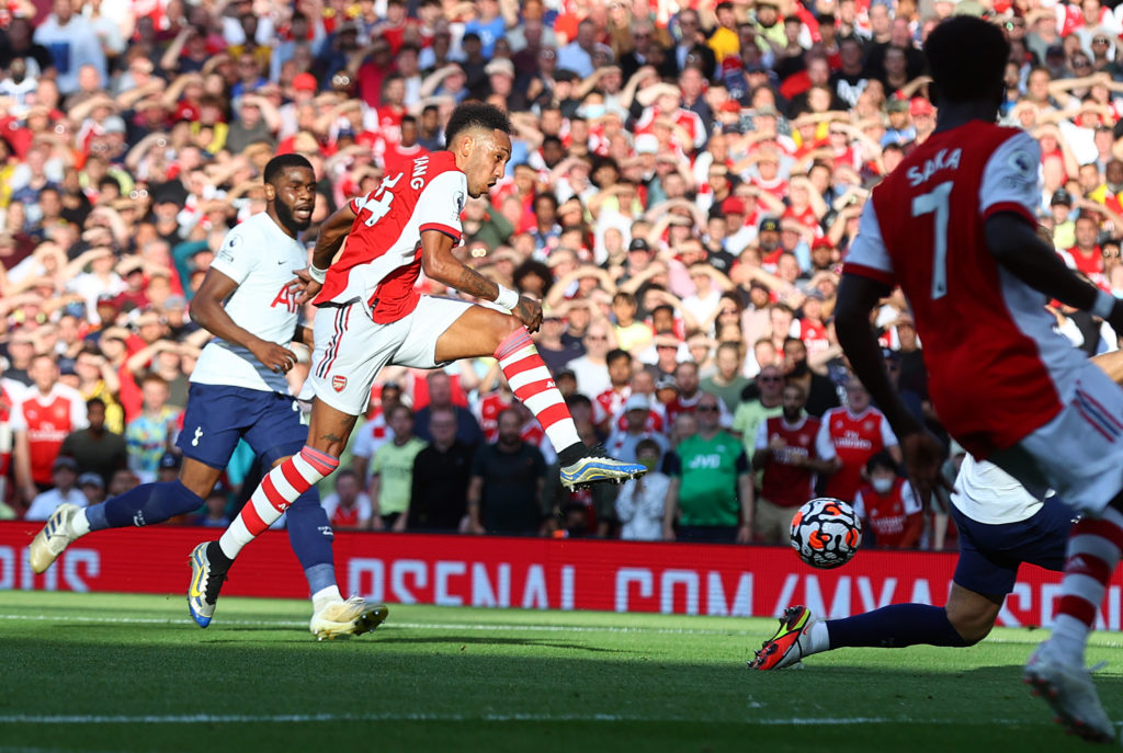 Arsenal put three past Spurs in London derby