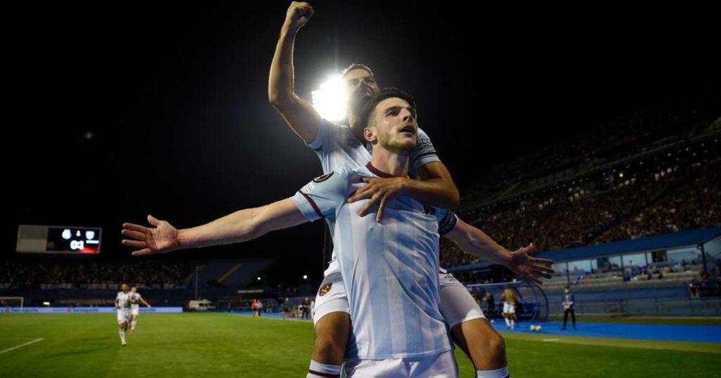 UEL wrap: Antonio, Rice fire West Ham to victory over Dinamo Zagreb