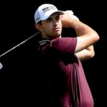 ATLANTA, GEORGIA - SEPTEMBER 02: Patrick Cantlay plays a shot on the seventh hole during the first round of the TOUR Championship at East Lake Golf Club on September 02, 2021 in Atlanta, Georgia. (Photo by Sam Greenwood/Getty Images)