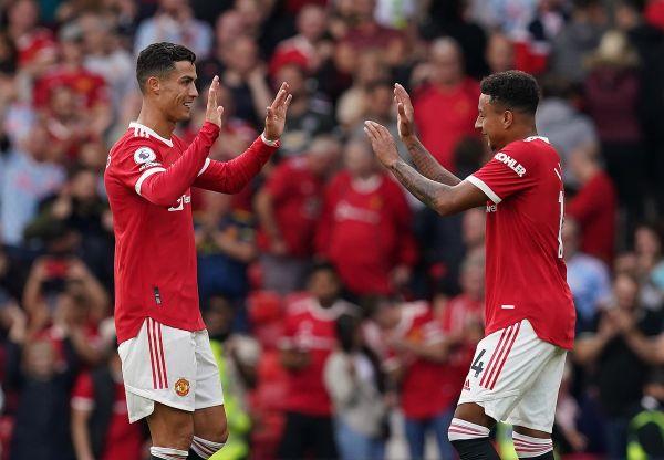 Lingard and Ronaldo