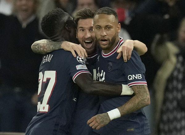 PSG Messi, Neymar, Mbappe