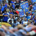 Stormers fans during the 2020 Super Rugby game between the Stormers and the Bulls at Newlands Rugby Stadium in Cape Town on 8 February 2020 © Ryan Wilkisky/BackpagePix