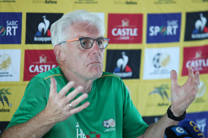 Some people in this country don't want Bafana to be a successful team - Broos