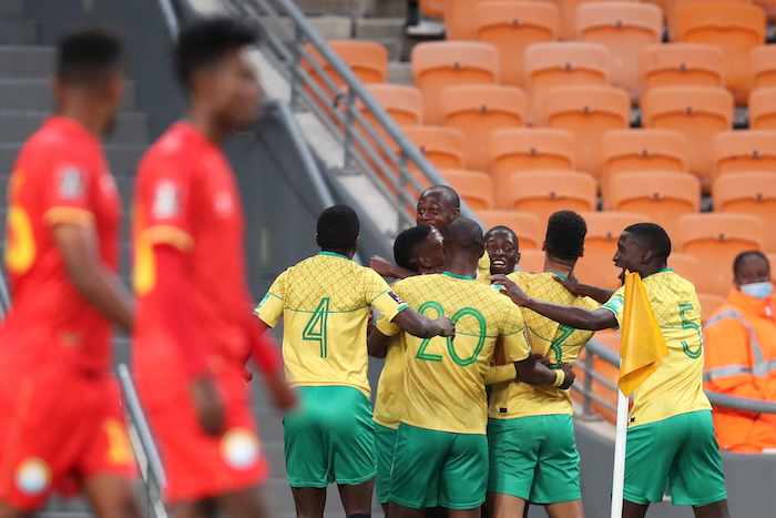 Highlights: Bafana edge Ethiopia to reclaim top spot