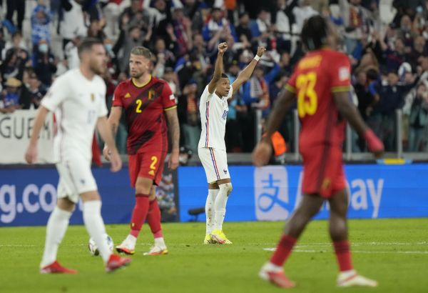 Deschamps praises French character after comeback victory over Belgium