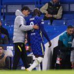 Lukaku and Tuchel of Chelsea