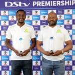 Mngqithi, Mokwena credit Sundowns performance for winning COTM award