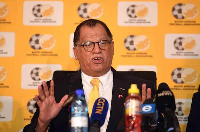 Safa reveals plans for fans return to Bafana clash