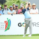 JOHANNESBURG, SOUTH AFRICA - JANUARY 09: Louis Oosthuizen of South Africa plays from the 10th tee during Day 1 of the South African Open at Randpark Golf Club on January 09, 2020 in Johannesburg, South Africa. (Photo by Warren Little/Getty Images)