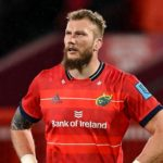 Limerick , Ireland - 2 October 2021; RG Snyman of Munster during the United Rugby Championship match between Munster and DHL Stormers at Thomond Park in Limerick. (Photo By Brendan Moran/Sportsfile via Getty Images)